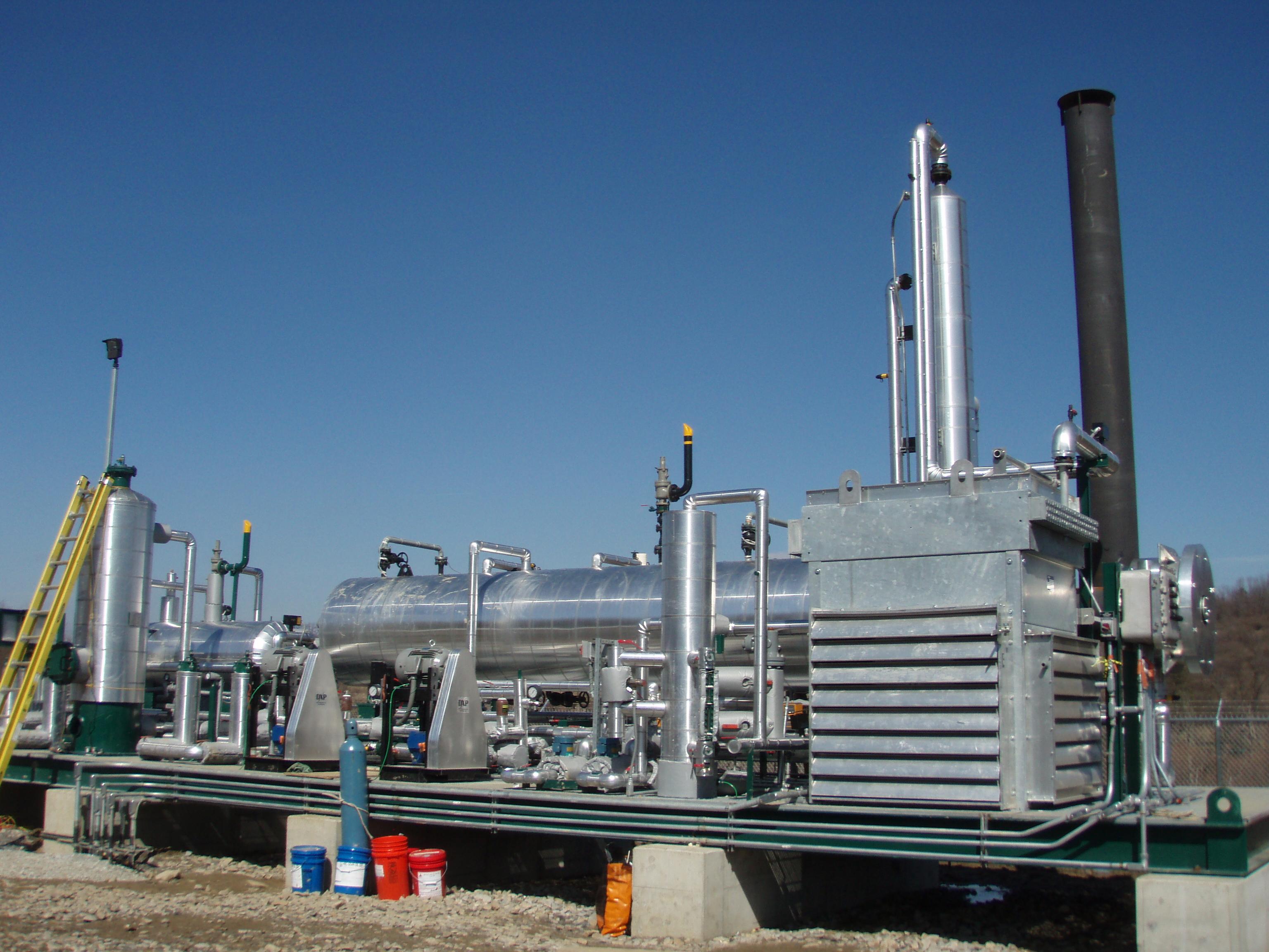 18 GPM, Zero Emission TEG Regenerator