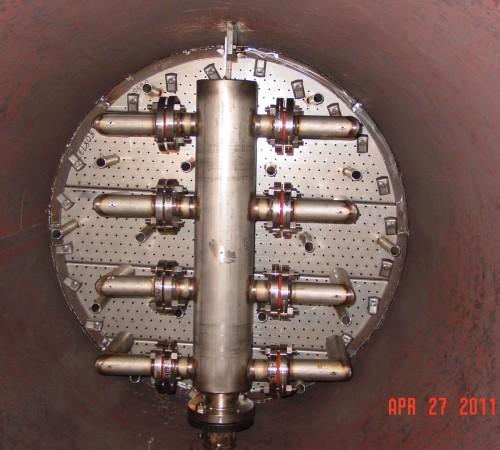 Inside a NGL/Amine Liquid Treater Column