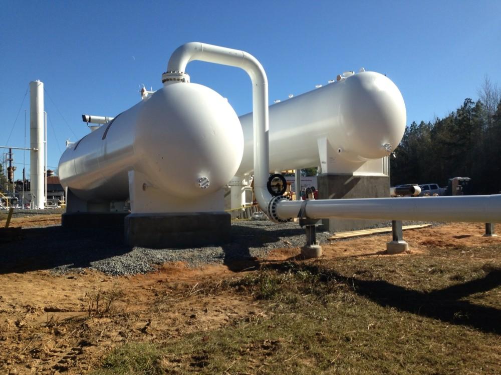 Inlet Slug Catcher & Liquid Storage Vessels at a Louisiana Compressor Station