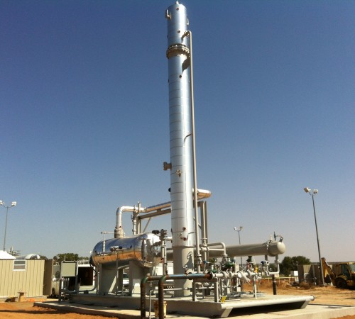 SW Kansas 1,500 BBL/D Condensate Stabilizer